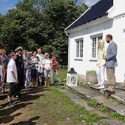 Meet and greet på Dvergsøya.