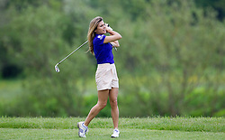 TV presenter Zoe Hardman  at a  celebrity golf event  in aid of Rugby for Heroes at Celtic Manor,Wales, United Kingdom, Monday, 19th May 2014. Picture by  i-Images