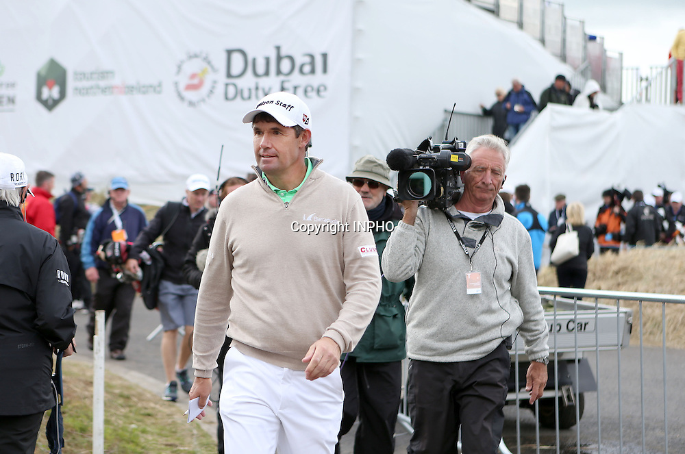 2015 Dubai Duty Free Irish Open Day 1, Royal County Down Golf Club, Co. Down 28/5/2015 <br /> Padraig Harrington<br /> Mandatory Credit &copy;INPHO/Presseye/Matt Makey