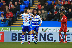 Goal, Roy Beerens of Reading scores, Reading 1-0 Bristol City - Mandatory by-line: Jason Brown/JMP - 26/11/2016 - FOOTBALL - Madejski Stadium - Reading, England - Reading v Bristol City - Sky Bet Championship