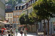 Einkaufstraße, Ilmenau, Thüringen, Deutschland | shopping street, Ilmenau, Thuringia, Germany