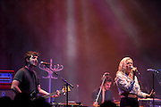 MS MR performs at Park West in Chicago, IL on July 21, 2012