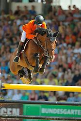 Van De Pol Henk, (NED)<br /> CSIO Nations Cup - Mannheim 2015<br /> © Hippo Foto - Stefan Lafrentz