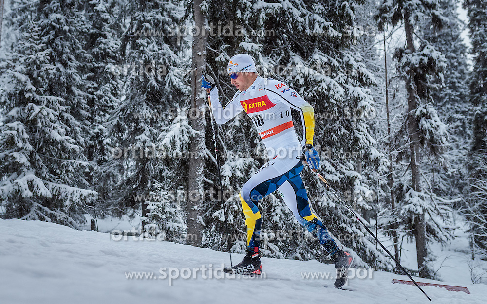 26.11.2016, Nordic Arena, Ruka, FIN, FIS Weltcup Langlauf, Nordic Opening, Kuusamo, Herren, im Bild Teodor Peterson (SWE) // Teodor Peterson of Sweden during the Mens FIS Cross Country World Cup of the Nordic Opening at the Nordic Arena in Ruka, Finland on 2016/11/26. EXPA Pictures © 2016, PhotoCredit: EXPA/ JFK
