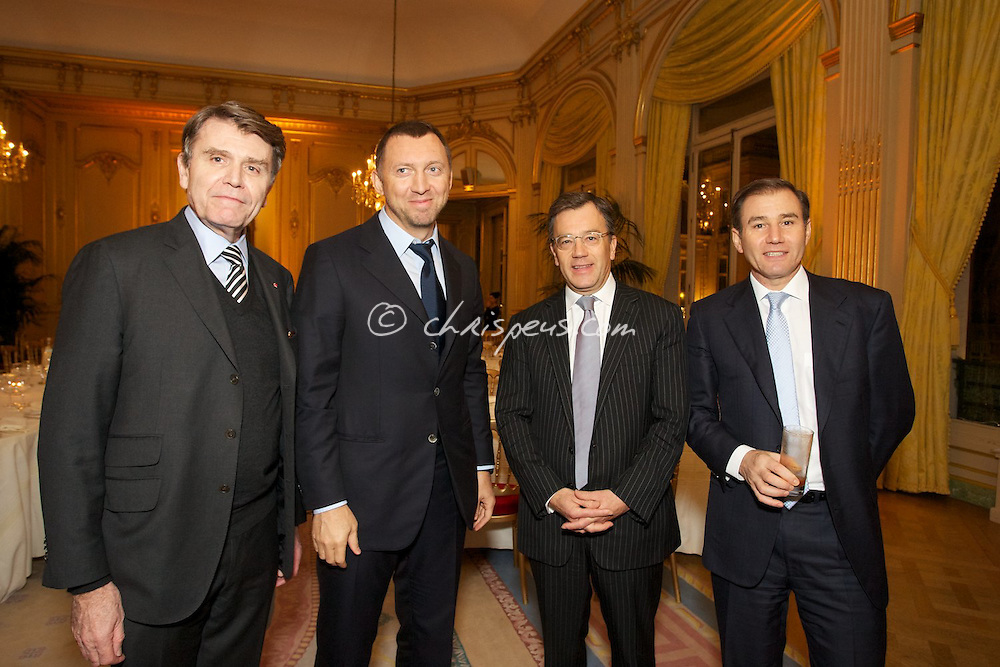 Di?ner avec Oleg Deripaska, PDG de UC RUSAL