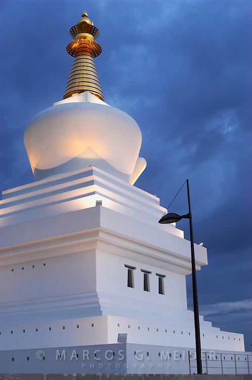 EN. Benalm&aacute;dena stupa (the largest one in the Western world). Benalm&aacute;dena. M&aacute;laga province, Andalucia, Spain<br /> ES. Estupa de Benalm&aacute;dena (la mayor del mundo occidenta). Benalm&aacute;dena, M&aacute;laga, Andaluc&iacute;a, Espa&ntilde;a.