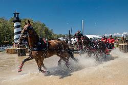 Harm Mareike, GER, Amicello, Luxus Boy, Racciano, Sunfire<br /> Tryon - FEI World Equestrian Games™ 2018<br /> Fahren Teilprüfung Marathon Team- und Einzelwertung<br /> 22. September 2018<br /> © www.sportfotos-lafrentz.de/Dirk Caremans