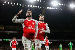 Goal, Olivier Giroud of Arsenal scores, Arsenal 2-1 Sunderland - Mandatory byline: Jason Brown/JMP - 07966386802 - 05/12/2015 - FOOTBALL - Emirates Stadium - London, England - Arsenal v Sunderland - Barclays Premier League
