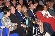 DEN HAAG - Koningin Maxima opent dinsdag 17 mei in World Forum in Den Haag het eerste lustrumcongres van de Pensioenfederatie. De Pensioenfederatie behartigt de belangen van de Nederlandse pensioenfondsen. COPYRIGHT ROBIN UTRECHT<br /> THE HAGUE - Queen M&aacute;xima opens Tuesday, May 17th at the World Forum in The Hague the first anniversary congress of the Pension Federation. The Pension Federation represents the interests of the Dutch pension funds. copyright robin utrecht