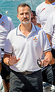Palma de Mallorca, 31-07-2017<br /> <br /> King Felipe joints the 36th Copa del Rey sailing contest at the Bay of Palma.<br /> <br /> PUBLICATION ONLY IN FRANCE<br /> <br /> Royalportraits Europe/Bernard Ruebsamen