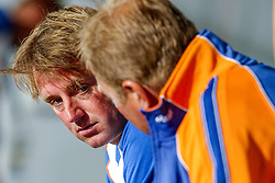 27-08-2004 GRE: Olympic Games day 14, Athens<br /> Hockey finale vrouwen Nederland - Duitsland 1-2 / Coach Marc Lammers