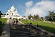 Sacre Coeur church, Paris, France