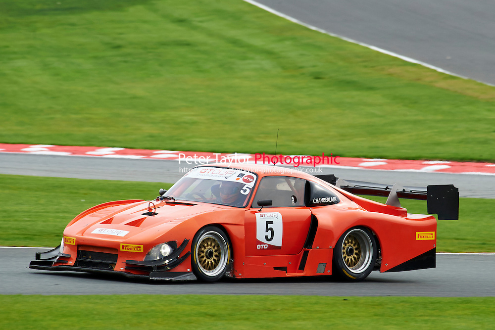 #5 Richard CHAMBERLAIN Porsche 935 during GT Cup - Race 1 as part of the MSVR Oulton Park 10th October 2015 at Oulton Park, Little Budworth, Cheshire, United Kingdom. October 10 2015. World Copyright Taylor/PSP. Copy of publication required for printed pictures.  Every used picture is fee-liable. http://archive.petertaylor-photographic.co.uk