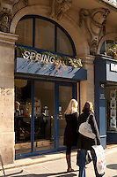 Spring Boutique, Paris - connected to Daniel Rose' Spring Restaurant