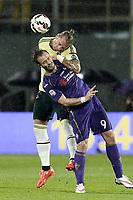 Philippe Mexes e Alberto Gilardino<br /> Firenze 16/03/2015 , Football Calcio 2014/2015 Serie A, Fiorentina-Milan, foto Daniele Buffa/Image Sport/Insidefoto