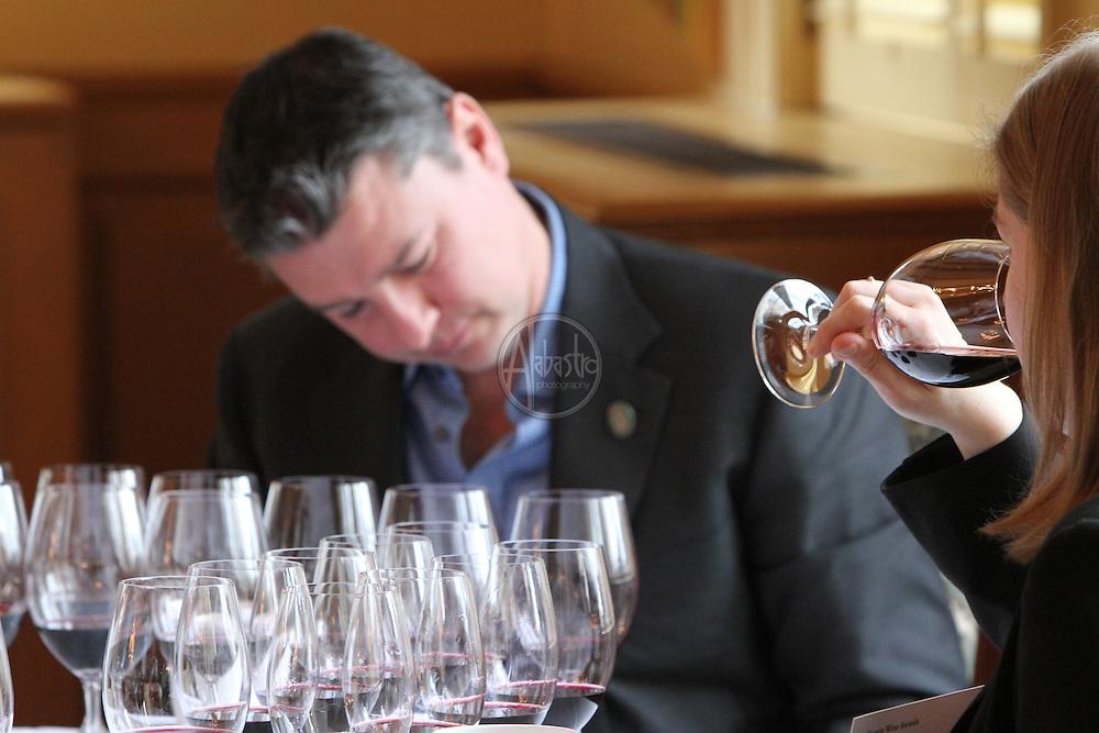 Seattle Wine Awards 2011 Tasting at the Rainier Club.