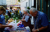 Traders at the Galway Market Ireland