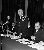 1962 - Official opening of the Oireachtas at the Mansion House, Dublin