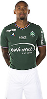 Gabriel Silva of Saint Etienne AS Saint Etienne at Stade de l'Aube on October 1, 2017 in Troyes, . (Photo by Icon Sport)