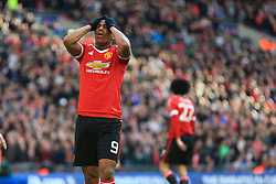 Anthony Martial of Manchester United missed opportunity - Mandatory byline: Jason Brown/JMP - 07966386802 - 23/04/2016 - FOOTBALL - Wembley Stadium - London, England - Everton v Manchester United - The Emirates FA Cup
