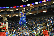 Dirk Williams of Sheffield Sharks during the Betway British Basketball All-Stars Championship at the O2 Arena, London, United Kingdom on 24 September 2017. Photo by Martin Cole.