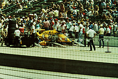 1980's Indianapolis 500 time trials Rights Managed Stock Images