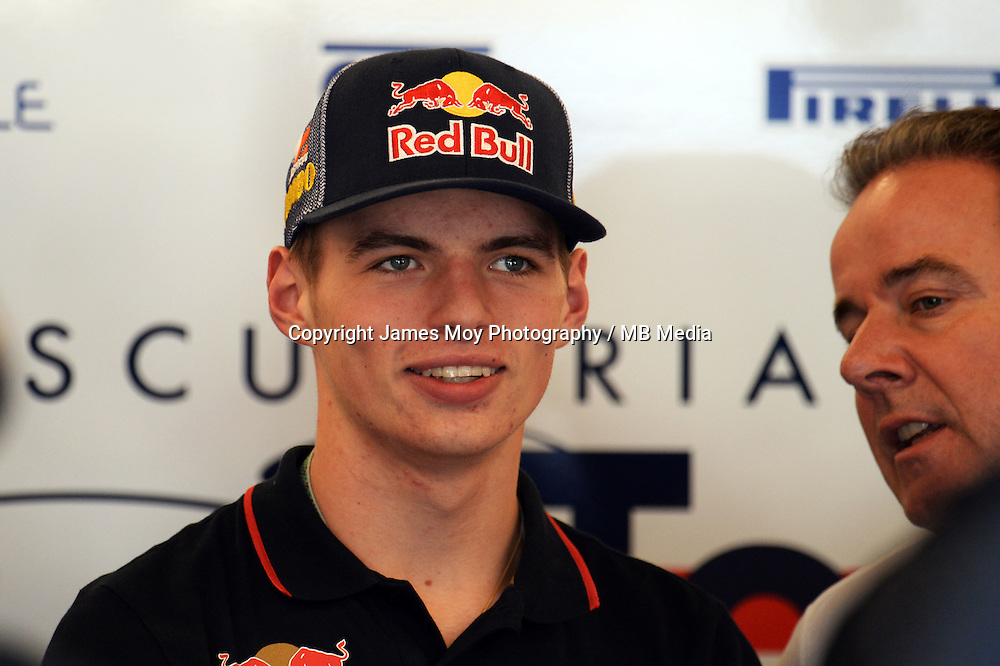 Max Verstappen (NLD) Scuderia Toro Rosso Test Driver.<br /> United States Grand Prix, Friday 31st October 2014. Circuit of the Americas, Austin, Texas, USA.