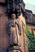 Princeton University, New Jersey, Stone Statue.