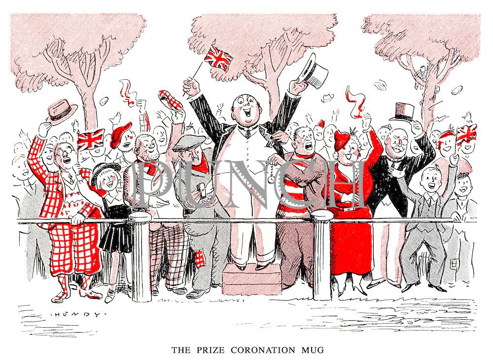 The Prize Coronation Mug.