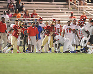 Lafayette High vs. Byhalia in homecoming football action in Oxford, Miss. on Friday, September 24, 2010.