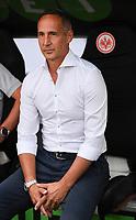 FUSSBALL 1. BUNDESLIGA   SAISON 2018/2019   SUPERCUP FINALE Eintracht Frankfurt - FC Bayern Muenchen    12.08.2018 Trainer Adi Huetter (Eintracht Frankfurt) DFL regulations prohibit any use of photographs as image sequences and/or quasi-video.