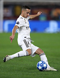 November 27, 2018 - Rome, Italy - AS Roma v FC Real Madrid : UEFA Champions League Group G.Lucas Vazquez of Real Madrid at Olimpico Stadium in Rome, Italy on November 27, 2018. (Credit Image: © Matteo Ciambelli/NurPhoto via ZUMA Press)