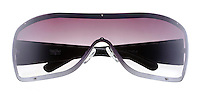 Mossimo shield sunglasses on white background