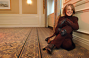 Actress Diane Keaton is seen in the Waldorf Astoria Hotel in Manhattan, NY. 11/23/2003 Photo by Jennifer S. Altman
