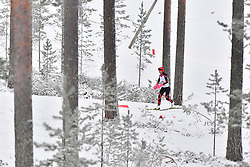 ZHAO Zhiqing, CHN, LW5 at the 2018 ParaNordic World Cup Vuokatti in Finland