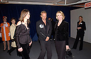 Sting and Trudie Styler, Fundraising party with airline theme in aid of the Old Vic and to celebrate the appointment of Kevin Spacey as artistic director.  <br />