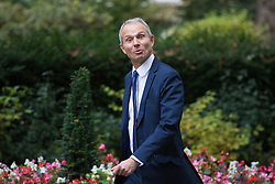 Downing Street, London, October 18th 2016. Leader of the House of Commons David Lidington arrives at the weekly cabinet meeting at 10 Downing Street in London.