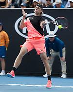 DENIS SHAPOVALOV (CAN)<br /> <br /> Tennis - Australian Open 2018 - Grand Slam / ATP / WTA -  Melbourne  Park - Melbourne - Victoria - Australia  - 15 January 2018.