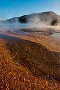 Yellowstone National Park, WY, on Sept. 2, 2012.  (Photo by Aaron Schmidt)