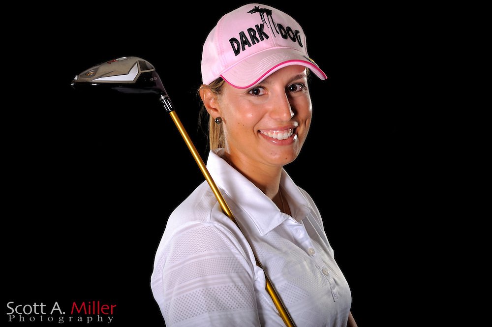 Elisa Serramia during a portrait shoot prior to the LPGA Futures Tour's Daytona Beach Invitational at LPGA International's Championship Courser on March 31, 2011 in Daytona Beach, Florida... ©2011 Scott A. Miller