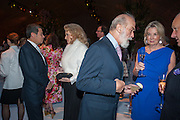 PRINCESS MICHAEL OF KENT; PRINCE MICHAEL OF KENT; HILARY WESTON; GALEN WESTON, , CARTIER CHELSEA FLOWER SHOW DINNER Dinner hosted by Cartier in celebration of the Chelsea Flower Show was held at Battersea Power Station. 22 May 2012
