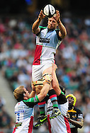 London - Saturday, 5th September, 2009: David Strettle of Harlequins during the Guinness Premiership match at Twickenham, London. ..(Pic by Alex Broadway/Focus Images)