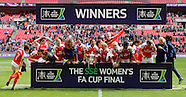 Arsenal v Chelsea Women's FA Cup Final 14/05/2016