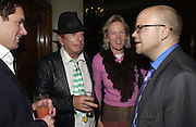 Henry Deedes, Nicky Haslam, Sue Macartney-Snape and Toby Young.. Cafe de Paris 80th birthday party. Coventry St. London 26 October 2005. October 2005. ONE TIME USE ONLY - DO NOT ARCHIVE © Copyright Photograph by Dafydd Jones 66 Stockwell Park Rd. London SW9 0DA Tel 020 7733 0108 www.dafjones.com