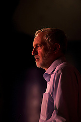 © Licensed to London News Pictures. 05/09/2015. Margate, UK.  Labour leadership candidate JEREMY CORBYN taking part in a rally in Margate in Kent, UK today (SAT).  Corbyn is currently the favourite to be announced as the new Labour party leader on September 12th. Photo credit: Ben Cawthra/LNP