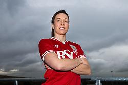 Corinne Yorston of bristol City Women's FC - Mandatory byline: Rogan Thomson/JMP - 11/01/2016 - FOOTBALL - Stoke Gifford Stadium - Bristol, England - Bristol City Women's FC New Signings.