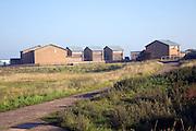 RNLI Lifeboat crew housing, Spurn Head, Yorkshire, England