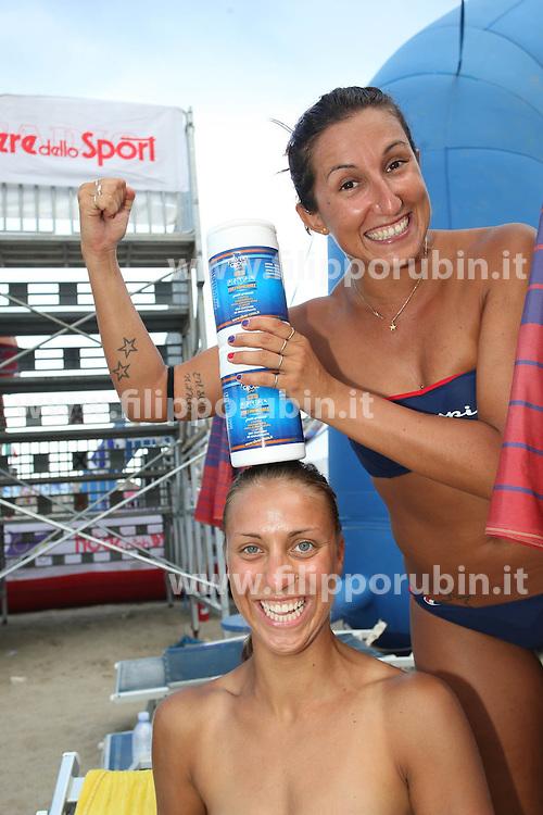 CAMPIONATO ITALIANO SAND VOLLEY 4X4.NAXOS CUP 2010.GIARDINI NAXOS (ME) 30-07-2010.FOTO FILIPPO RUBIN / LVF