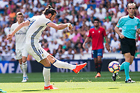 Real Madrid's player Gareth Bale during a match of La Liga Santander at Santiago Bernabeu Stadium in Madrid. September 10, Spain. 2016. (ALTERPHOTOS/BorjaB.Hojas)