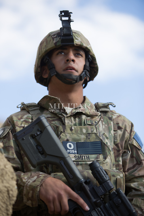 MAN MODEL RELEASED ARMY MULTICAM